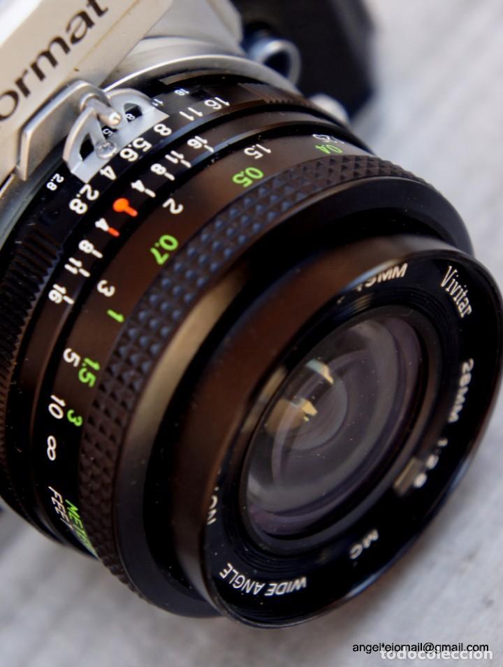 Cámara de fotos: NIKKORMAT, Nikon, FT2.Con 28 2,8 - Foto 7 - 219174030
