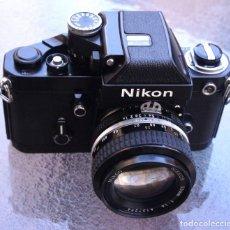 Cámara de fotos: NIKON F2A.SISTEMA AI.CON NIKON 50 F/1,4 AI.NEGRA.DE MUSEO.. Lote 219191401