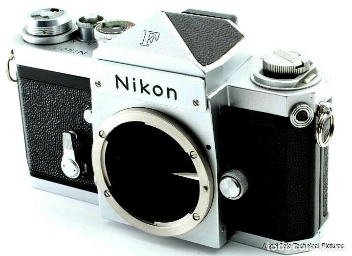 NIKON F EN EXCEPCIONAL ESTADO. (Cámaras Fotográficas - Réflex (no autofoco))