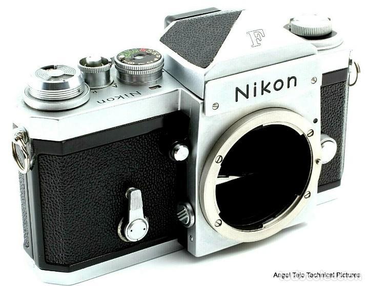 Cámara de fotos: NIKON F en excepcional estado. - Foto 2 - 219409705
