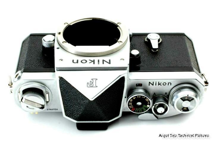 Cámara de fotos: NIKON F en excepcional estado. - Foto 3 - 219409705