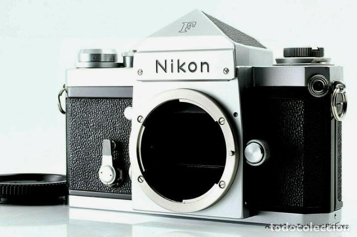 Cámara de fotos: NIKON F en excepcional estado. - Foto 9 - 219409705