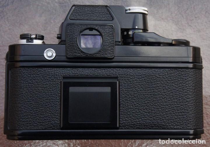 Cámara de fotos: Excepcional Nikon de colección.Estado de Museo.Nikon F2 Negra.con Nikkor 50 1,8. - Foto 5 - 219890213