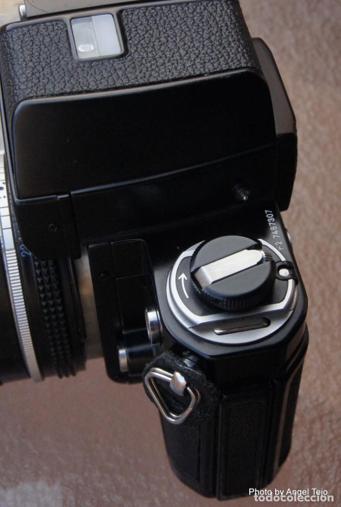 Cámara de fotos: Excepcional Nikon de colección.Estado de Museo.Nikon F2 Negra.con Nikkor 50 1,8. - Foto 7 - 219890213