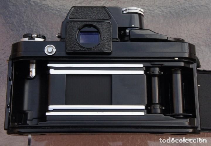 Cámara de fotos: Excepcional Nikon de colección.Estado de Museo.Nikon F2 Negra.con Nikkor 50 1,8. - Foto 9 - 219890213