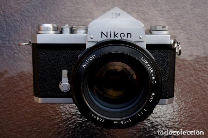Cámara de fotos: Excepcional Nikon de colección.Estado de Museo.Nikon F, Prism Finder.con Nikkor 50 1 / 1,2 - Foto 2 - 219891708