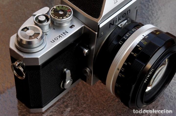 Cámara de fotos: Excepcional Nikon de colección.Estado de Museo.Nikon F, Prism Finder.con Nikkor 50 1 / 1,2 - Foto 3 - 219891708