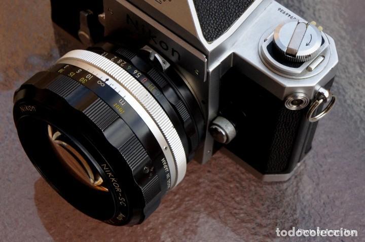 Cámara de fotos: Excepcional Nikon de colección.Estado de Museo.Nikon F, Prism Finder.con Nikkor 50 1 / 1,2 - Foto 4 - 219891708