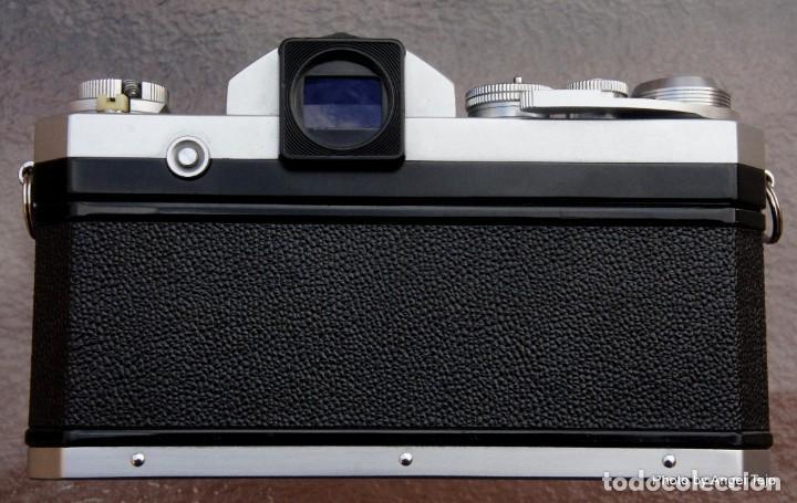 Cámara de fotos: Excepcional Nikon de colección.Estado de Museo.Nikon F, Prism Finder.con Nikkor 50 1 / 1,2 - Foto 5 - 219891708