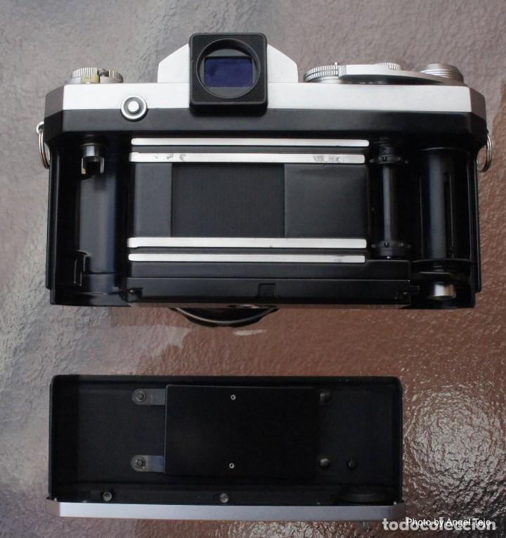 Cámara de fotos: Excepcional Nikon de colección.Estado de Museo.Nikon F, Prism Finder.con Nikkor 50 1 / 1,2 - Foto 8 - 219891708