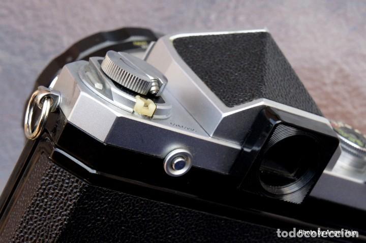 Cámara de fotos: Excepcional Nikon de colección.Estado de Museo.Nikon F, Prism Finder.con Nikkor 50 1 / 1,2 - Foto 10 - 219891708