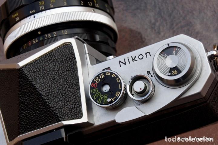 Cámara de fotos: Excepcional Nikon de colección.Estado de Museo.Nikon F, Prism Finder.con Nikkor 50 1 / 1,2 - Foto 11 - 219891708