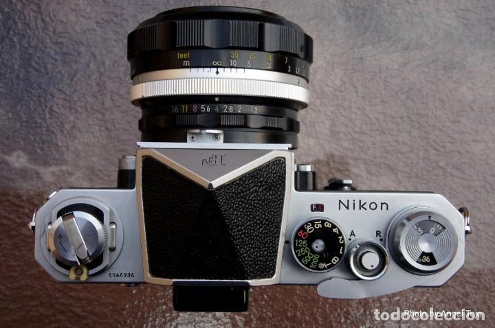 Cámara de fotos: Excepcional Nikon de colección.Estado de Museo.Nikon F, Prism Finder.con Nikkor 50 1 / 1,2 - Foto 12 - 219891708