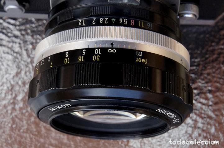 Cámara de fotos: Excepcional Nikon de colección.Estado de Museo.Nikon F, Prism Finder.con Nikkor 50 1 / 1,2 - Foto 13 - 219891708