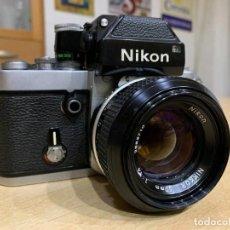Cámara de fotos: NIKON F2. Lote 220103830