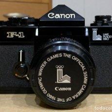 Cámara de fotos: CANON F1 JUEGOS OLÍMPICOS DE MOSCÚ. Lote 220281218