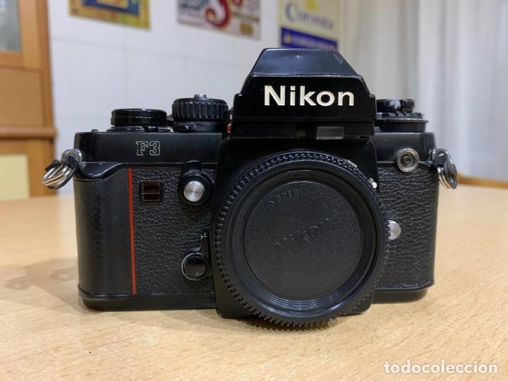NIKON F3 (Cámaras Fotográficas - Réflex (no autofoco))