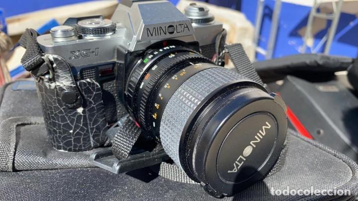 CAMARA ANTIGUA MINOLTA XG-1 CLASICA CON FUNDA Y BUEN ESTADO (Cámaras Fotográficas - Réflex (no autofoco))