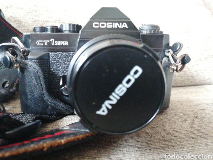 Cámara de fotos: Cámara Cosina Ct1 súper + objetivo + accesorios - Foto 2 - 221580481
