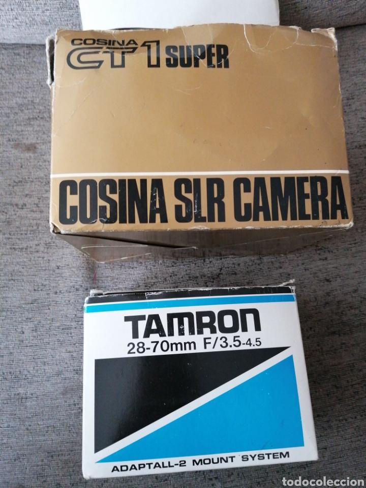 CÁMARA COSINA CT1 SÚPER + OBJETIVO + ACCESORIOS (Cámaras Fotográficas - Réflex (no autofoco))