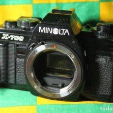 Cámara de fotos: CUERPO MINOLTA X700. Lote 221664333