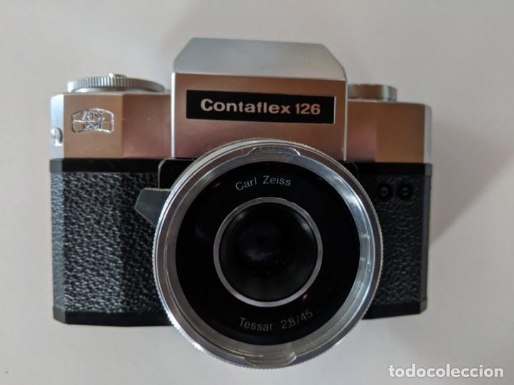 ZEISS IKON CONTAFLEX 126 - AÑOS 60 - EN EXCELENTE ESTADO - OPTICA ZEISS TESSAR 28/45 2.8/45MM (Cámaras Fotográficas - Réflex (no autofoco))