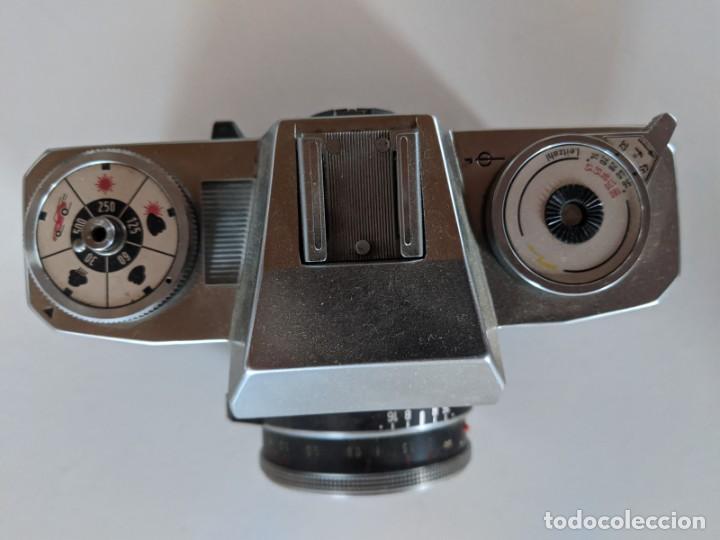 Cámara de fotos: ZEISS IKON CONTAFLEX 126 - AÑOS 60 - EN EXCELENTE ESTADO - OPTICA ZEISS TESSAR 28/45 2.8/45mm - Foto 3 - 221775555