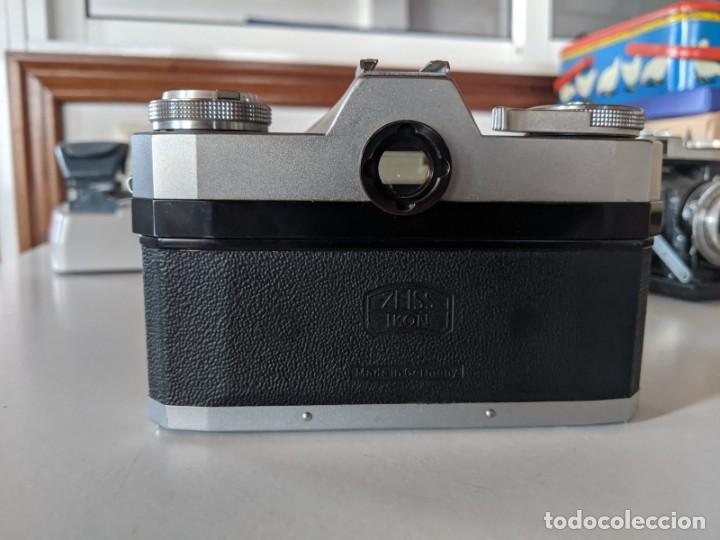 Cámara de fotos: ZEISS IKON CONTAFLEX I SYNCHRO COMPUR 1950 CON OBJETIVO ZEISS PRO-TESSAR 1:4 115 mm - Foto 5 - 221779068