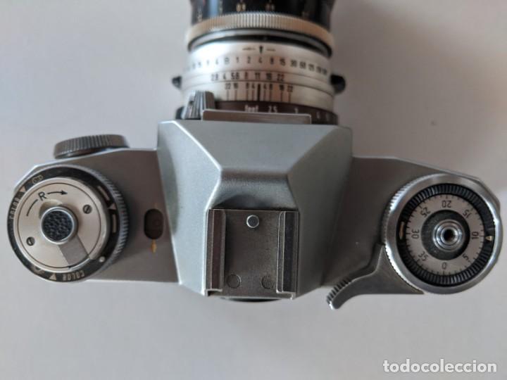 Cámara de fotos: ZEISS IKON CONTAFLEX I SYNCHRO COMPUR 1950 CON OBJETIVO ZEISS PRO-TESSAR 1:4 115 mm - Foto 6 - 221779068