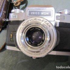 Cámara de fotos: CAMARA ZEIS IKON OBJETIVO CARL ZEISS. Lote 222477001