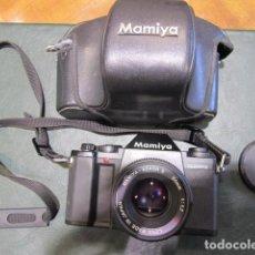 Cámara de fotos: CÁMARA MAMIYA FUNCIONANDO PERFECTA. Lote 222580942