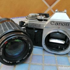 Cámara de fotos: CAMARA FOTOGRAFICA ANALÓGICA CANON AE1. Lote 224239163