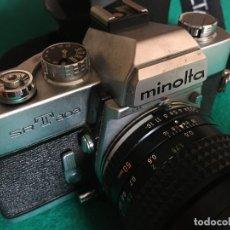 Câmaras de fotos: CÁMARA DE FOTOS MINOLTA SRT303 CON OBJETIVO 50MM 1.4. Lote 224923018