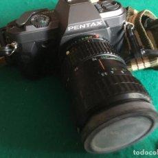 Cámara de fotos: CAMARA PENTAX P30T ZOO 28-80 MM Y FLAX AF 260. Lote 224923947