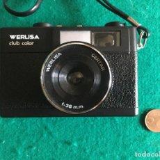 Cámara de fotos: CÁMARA FOTOGRÁFICA WERLISA CLUB COLOR. Lote 224925328