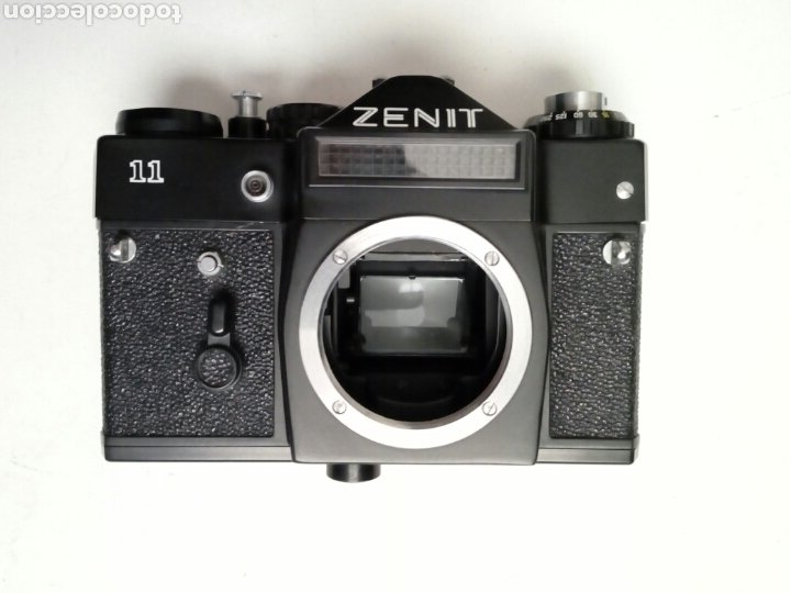 (LEER DESCRIPCION) CÁMARA: ZENIT 11 - RÉFLEX - URSS CCCP - FOTOGRAFÍA ANALÓGICA - HIPSTER - 35MM M42 (Cámaras Fotográficas - Réflex (no autofoco))