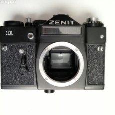 Cámara de fotos: (LEER DESCRIPCION) CÁMARA: ZENIT 11 - RÉFLEX - URSS CCCP - FOTOGRAFÍA ANALÓGICA - HIPSTER - 35MM M42. Lote 225726506