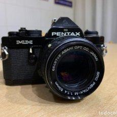 Cámara de fotos: PENTAX MX CON 50MM 1.4 Y MOTOR. Lote 226215561