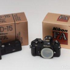 Cámara de fotos: NIKON FA CON MOTOR MD15. Lote 226969875