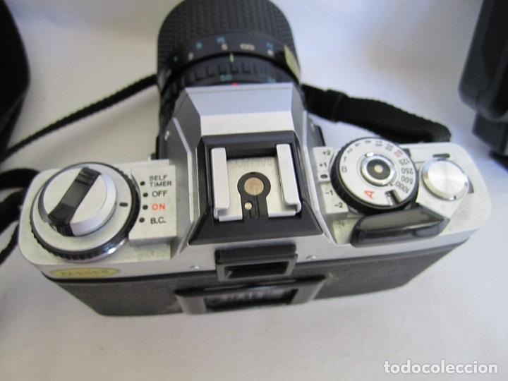 Cámara de fotos: Cámara MINOLTA XG-1, Objetivo 35-70 mm., Flash Osram V-250 Studio, maletín y manual en español - Foto 8 - 227103975