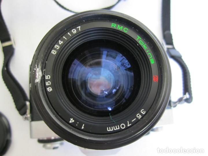 Cámara de fotos: Cámara MINOLTA XG-1, Objetivo 35-70 mm., Flash Osram V-250 Studio, maletín y manual en español - Foto 11 - 227103975