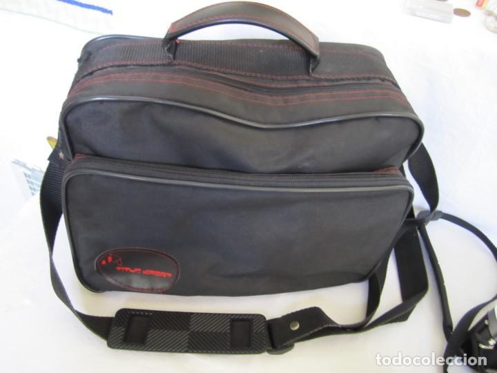 Cámara de fotos: Cámara MINOLTA XG-1, Objetivo 35-70 mm., Flash Osram V-250 Studio, maletín y manual en español - Foto 12 - 227103975