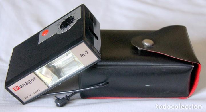 Cámara de fotos: Zeiss Ikon Contaflex SUPER-OBJETIVO Synchro-compur Carl Zeiss Tessar 2.8/50 mm + FLASH + FUNDA PIEL - Foto 11 - 227648570