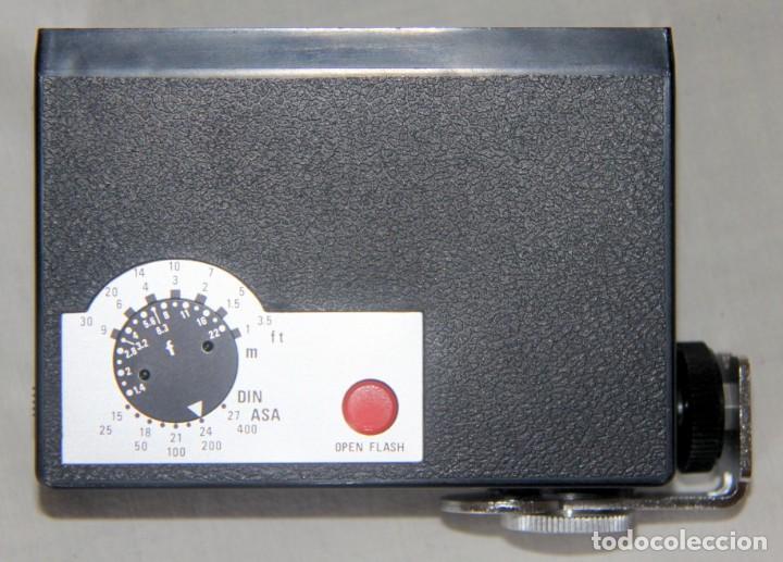 Cámara de fotos: Zeiss Ikon Contaflex SUPER-OBJETIVO Synchro-compur Carl Zeiss Tessar 2.8/50 mm + FLASH + FUNDA PIEL - Foto 12 - 227648570