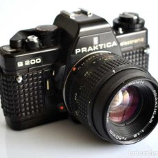 Cámara de fotos: CÁMARA REFLEX ANALÓGICA PRAKTICA B200. FUNCIONANDO. Lote 227940600