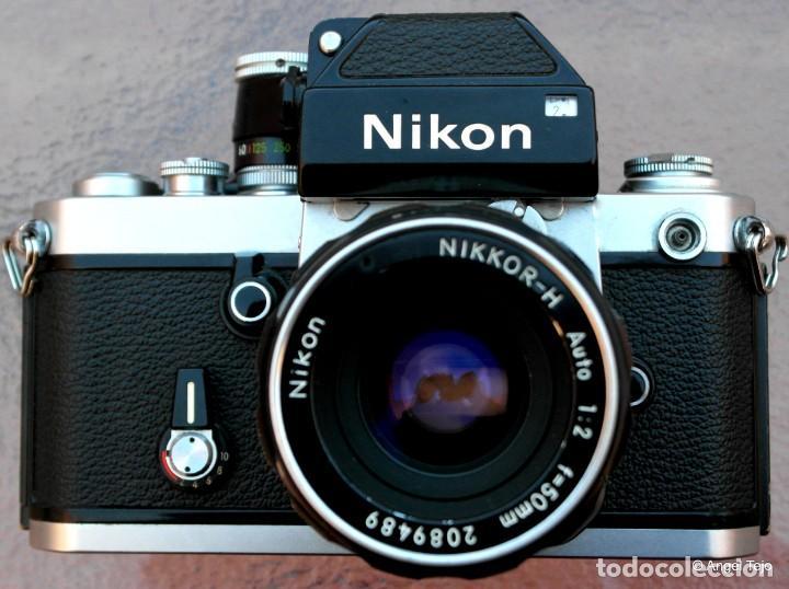 Cámara de fotos: NIKON F2 IMPECABLE con 50 F 1/2 - Foto 2 - 227966770