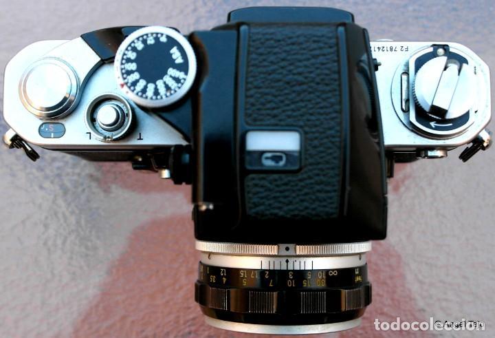 Cámara de fotos: NIKON F2 IMPECABLE con 50 F 1/2 - Foto 3 - 227966770