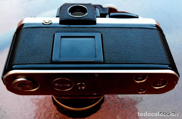 Cámara de fotos: NIKON F2 IMPECABLE con 50 F 1/2 - Foto 5 - 227966770