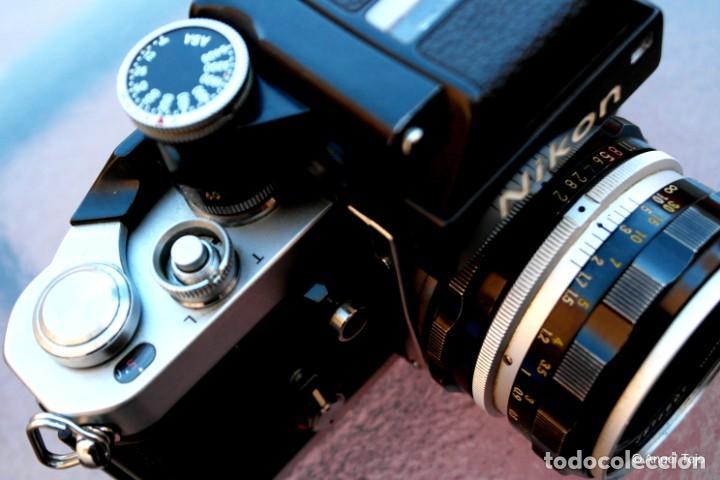 Cámara de fotos: NIKON F2 IMPECABLE con 50 F 1/2 - Foto 6 - 227966770