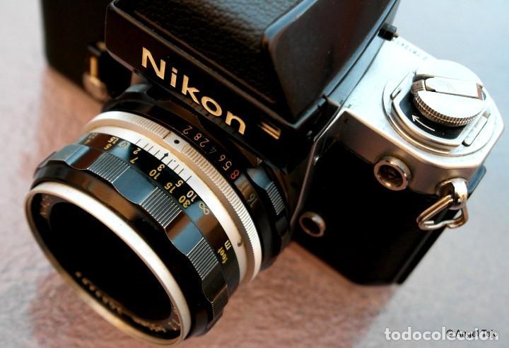 Cámara de fotos: NIKON F2 IMPECABLE con 50 F 1/2 - Foto 7 - 227966770